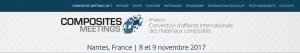 A2J COMPOSITES aux Composites Meetings - Nantes 8 et 9 nov 2017